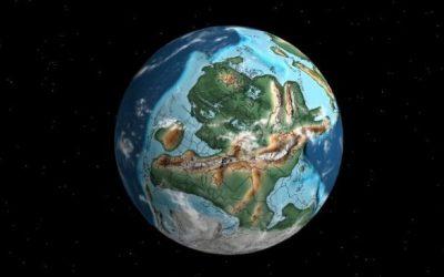 Un mapa interactivo muestra dónde estaban las ciudades del mundo hace millones de años
