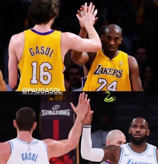 LeBron compara su conexión con Marc Gasol con la que tenían Pau y Kobe Bryant
